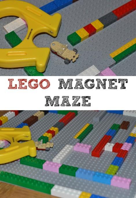 LEGO Magnet Maze.