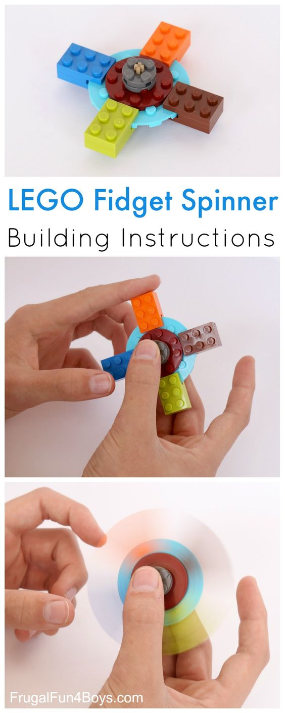 How to Build a LEGO Fidget Spinner.