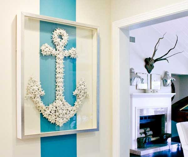 Starfish Anchor Wall Art.
