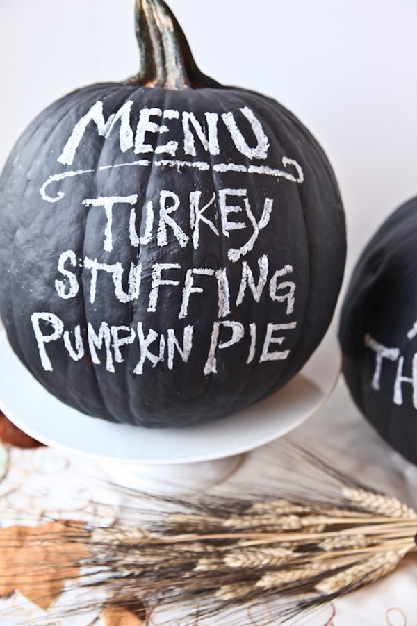 Turn a Pumpkin into Your Party Menu.