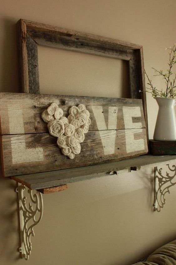 Homemade Rustic Wall Decor : Rustic wall decor diy ideas