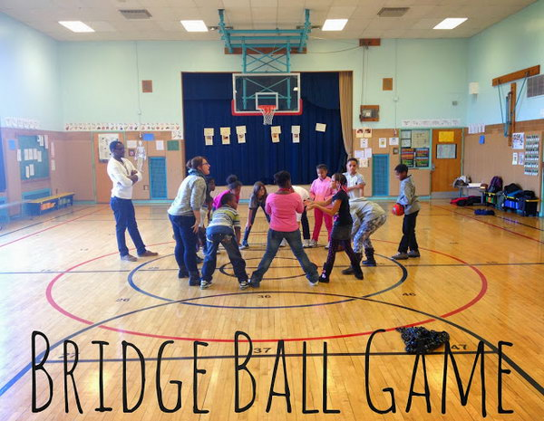 Bridge Ball Game.