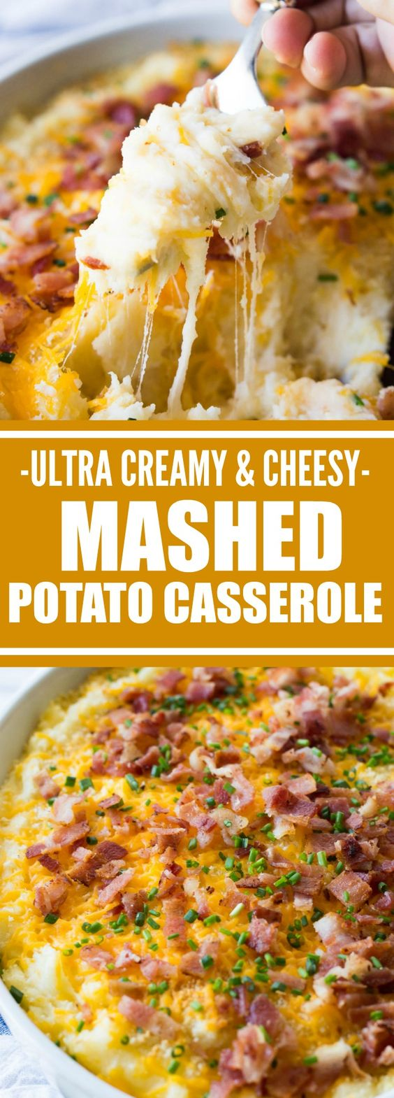 Mashed Potato Casserole.