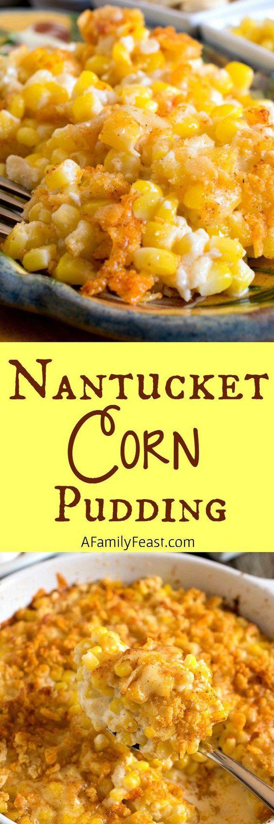 Nantucket Corn Pudding.