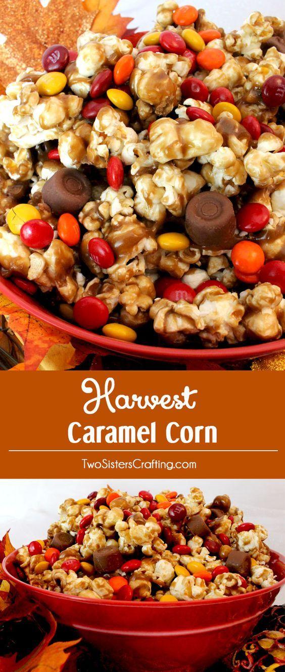 Harvest Caramel Corn.