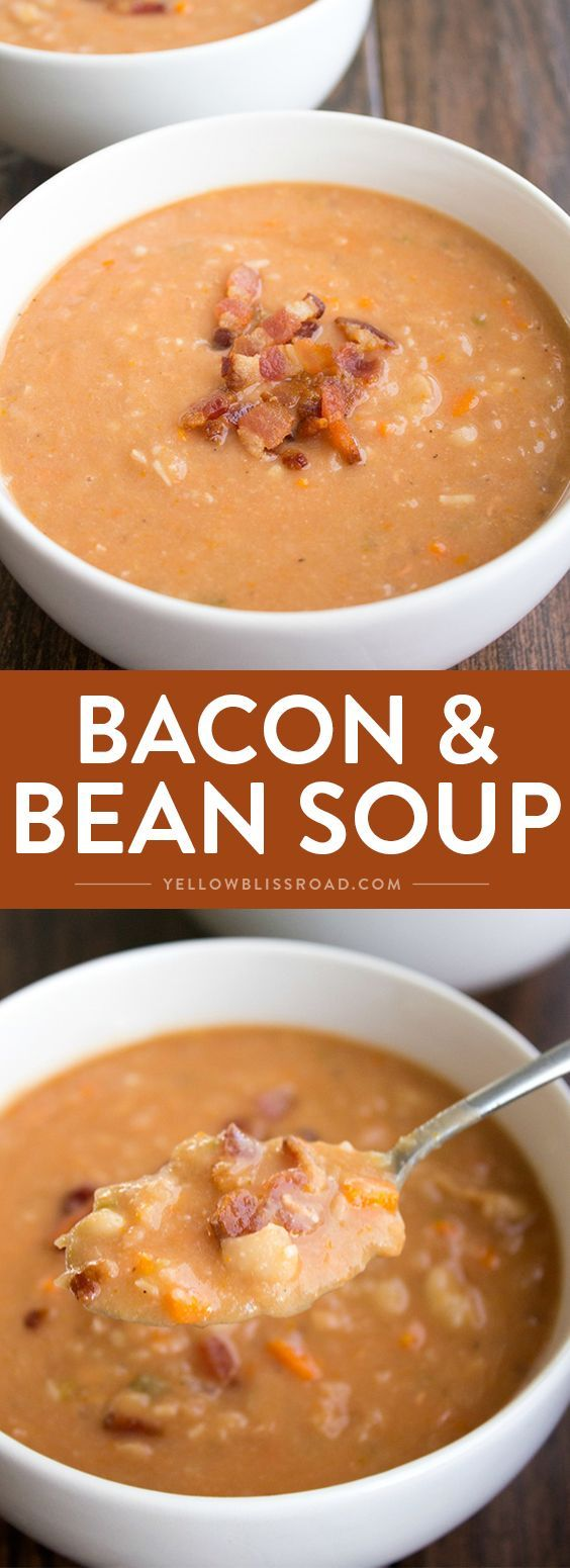 Bacon and Bean Soup.