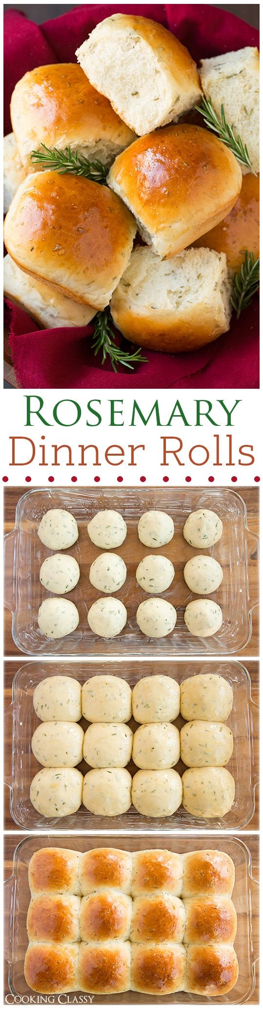 Rosemary Dinner Rolls.