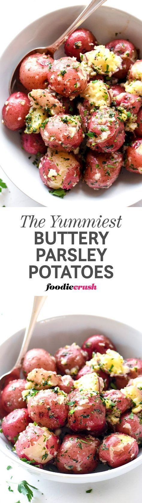 The Best Buttery Parsley Potatoes.