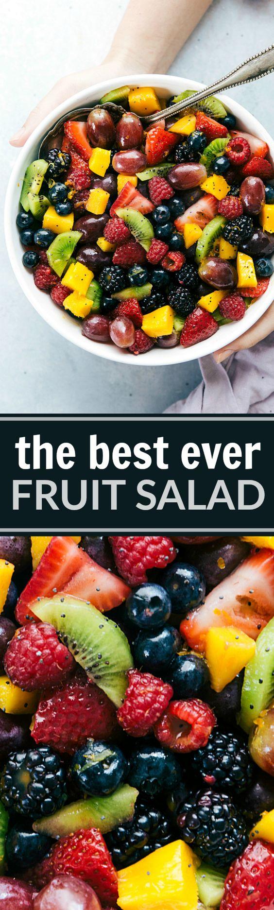 The Best Ever Fruit Salad.