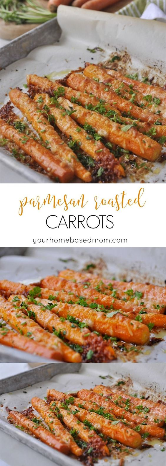 Parmesan Roasted Carrots.