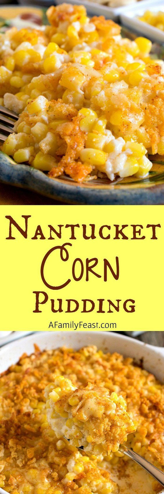 Nantucket Corn Pudding.