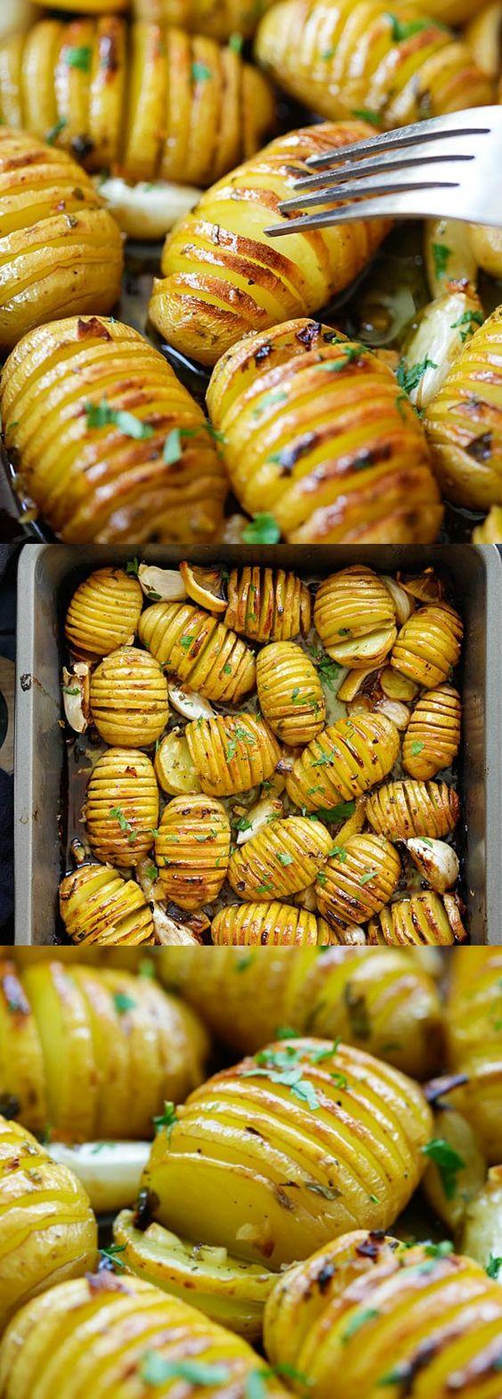 Lemon Herb Roasted Potatoes.
