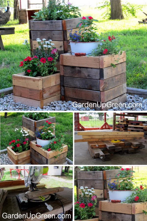 30 Creative Diy Wood And Pallet Planter Boxes To Style Up Your Home 2017