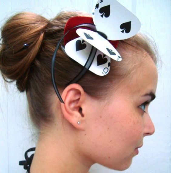 Alice in Wonderland Hair Bow.
