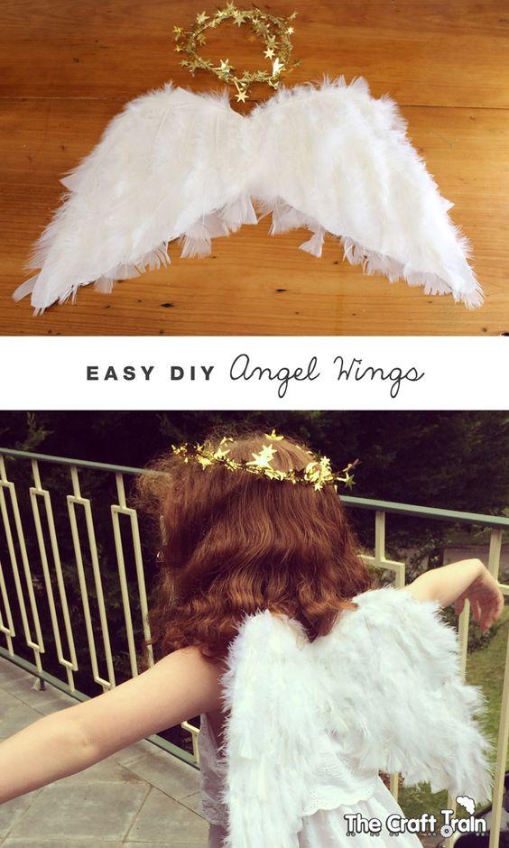 Easy DIY Angel Wings.