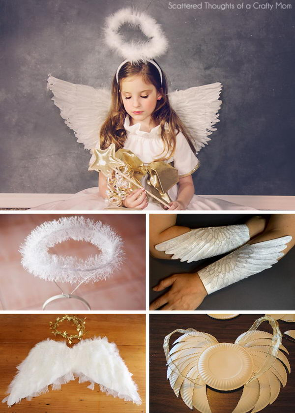 15+ Angel Costumes and DIY Ideas 2017