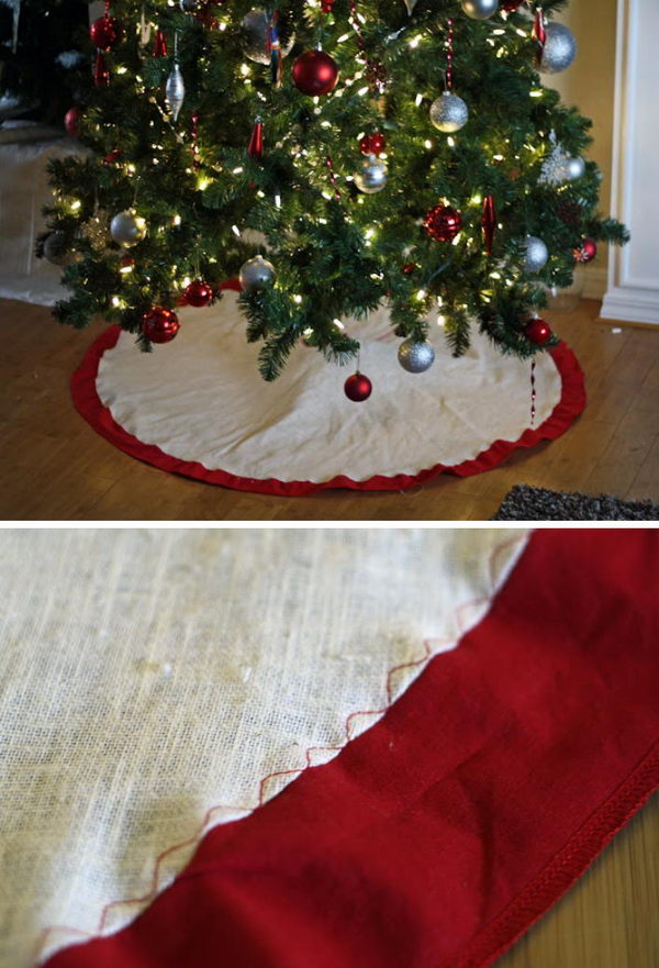 Simple Tree Skirt.