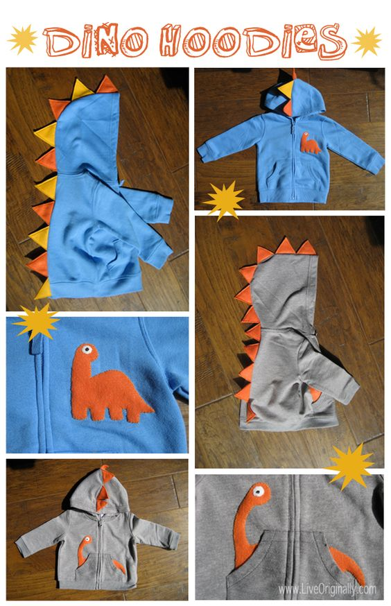 Dino Hoodies.