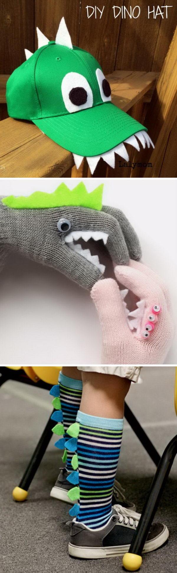 Dinosaur Costumes and DIY Ideas.