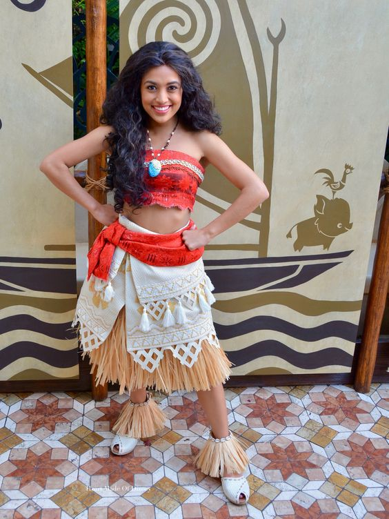 Disney Moana Costume.