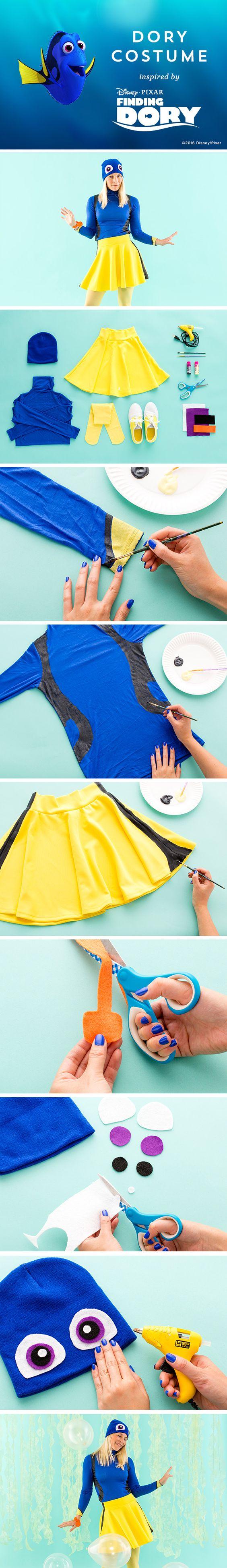DIY Dory Costume.