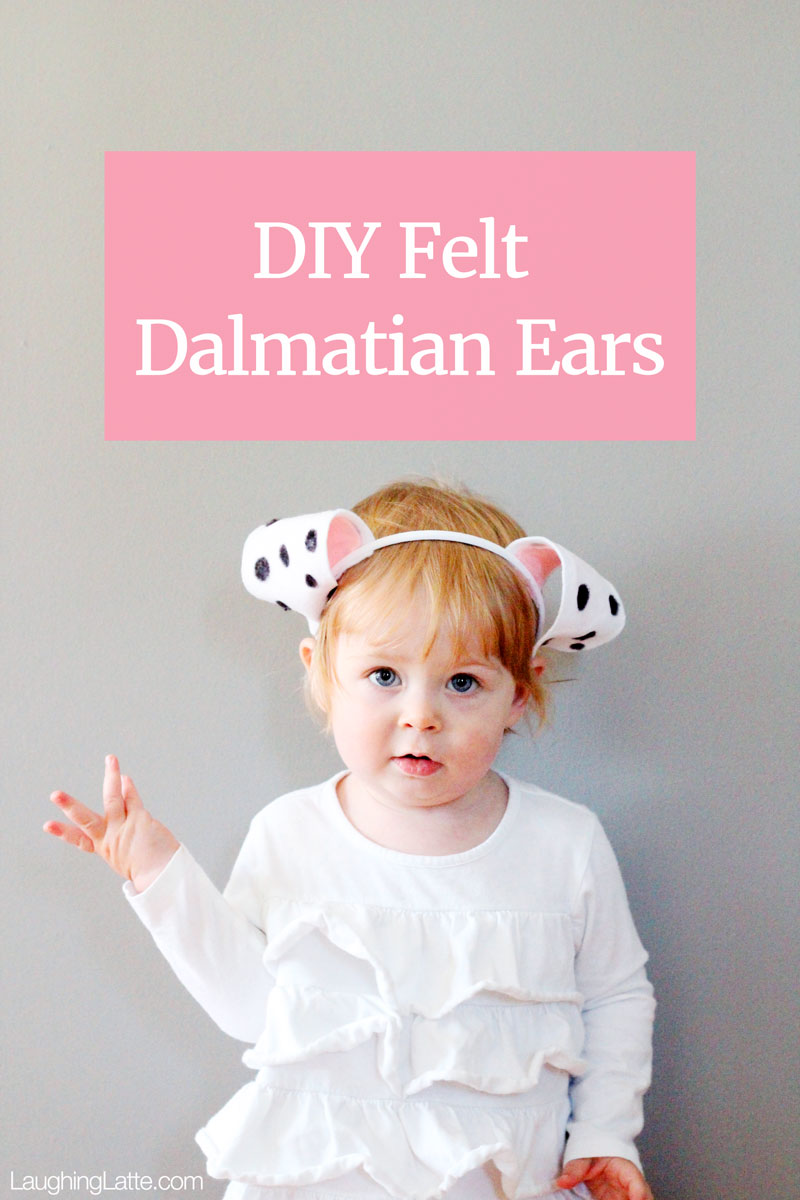 DIY Felt Dog Ears With Free Template.