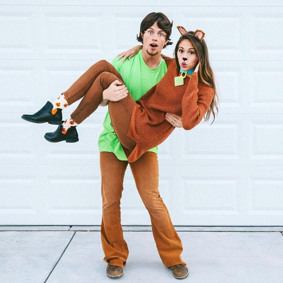 Scooby Doo & Shaggy Halloween Costume.