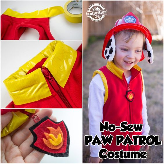 Paw Patrol Marshall Costume.