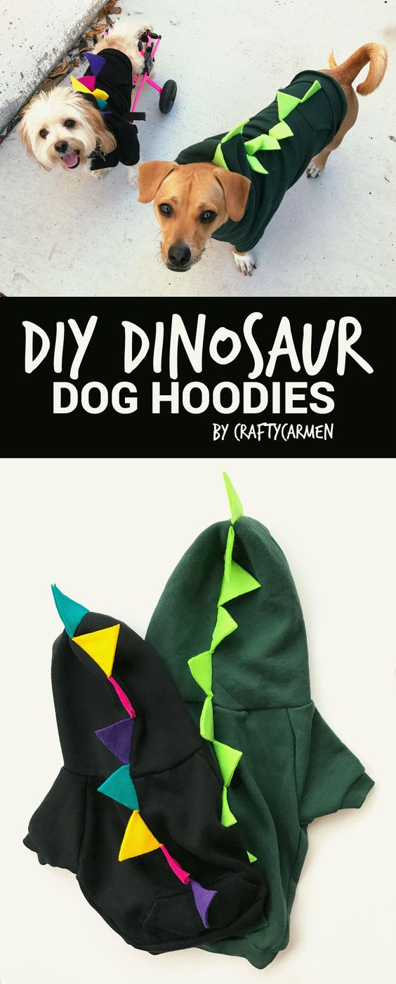 30 dog halloween costumes 2017 diy dinosaur dog hoodies solutioingenieria Image collections