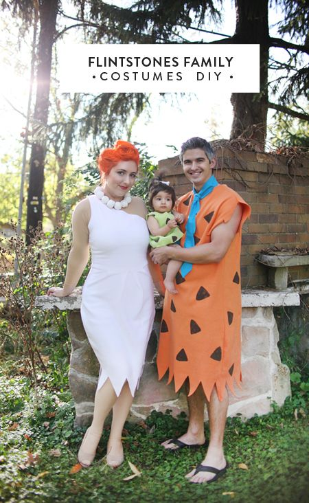 DIY Flintstones Family Costumes.