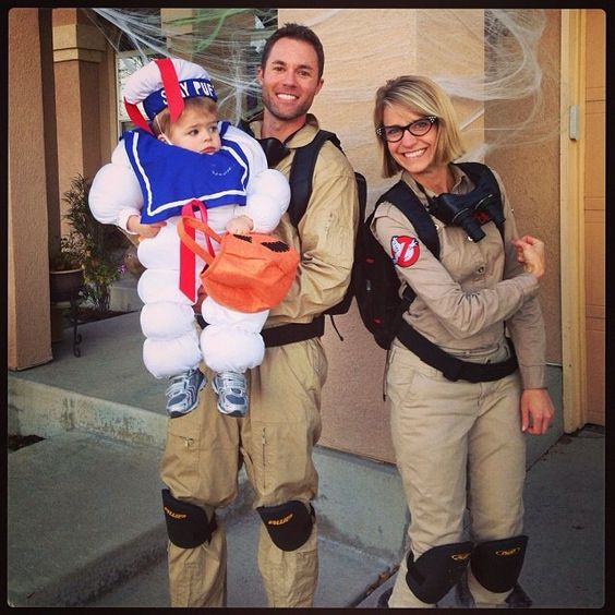 Ghostbusters Family Costume.