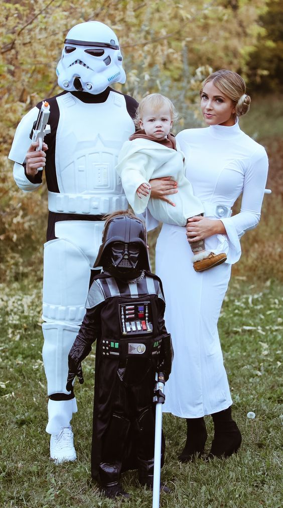 Star Wars Family Costumes.