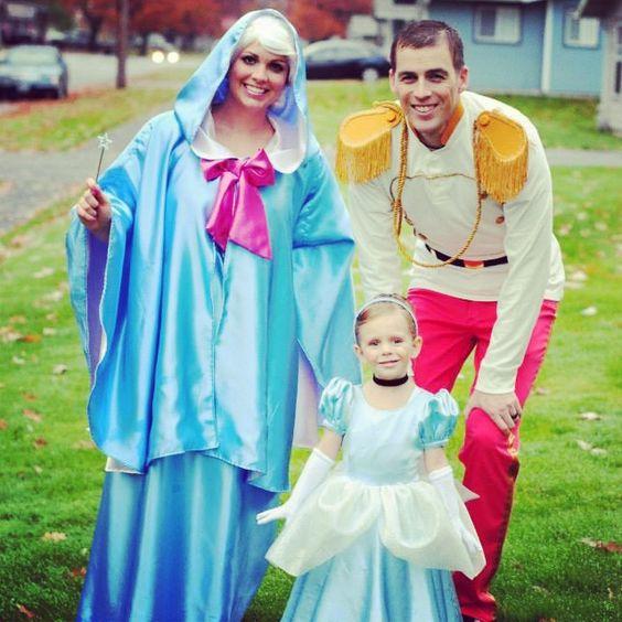 Cinderella Family Costumes.