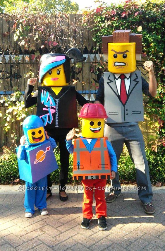 Lego Family Costume.