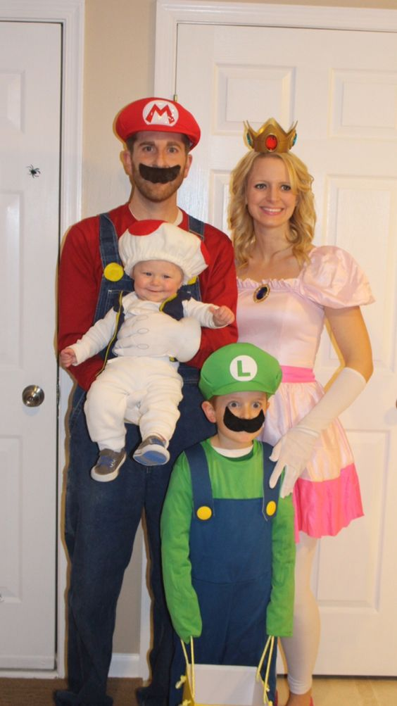 Mario Family Costumes.