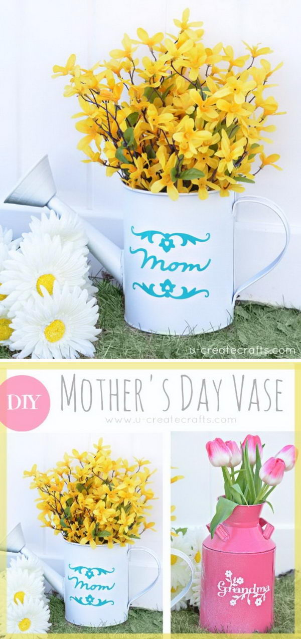 DIY Mother's Day Vase.