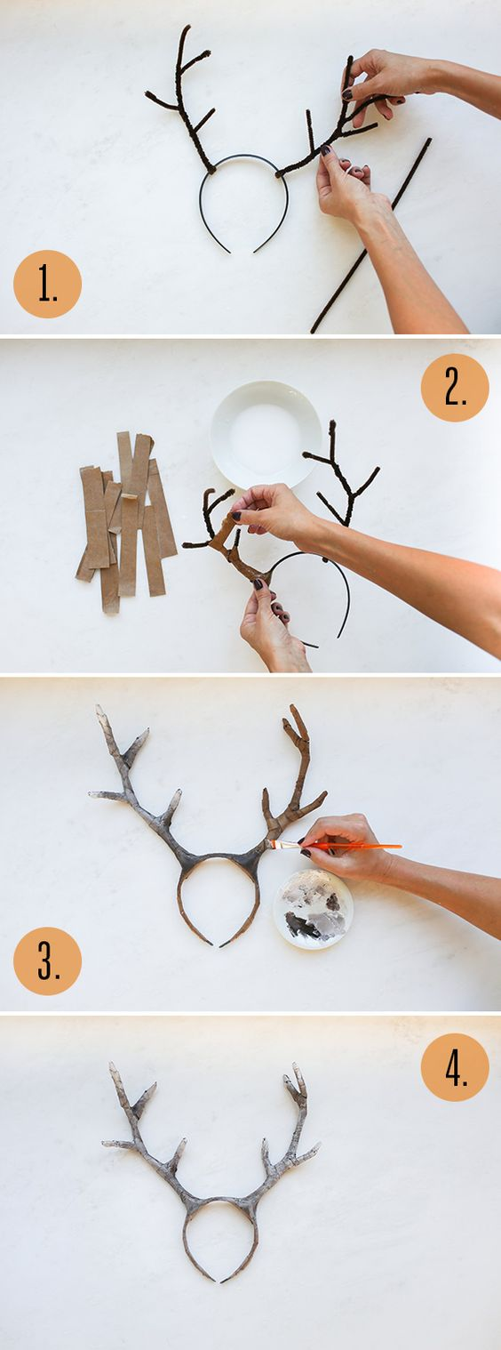 DIY Deer Costume.