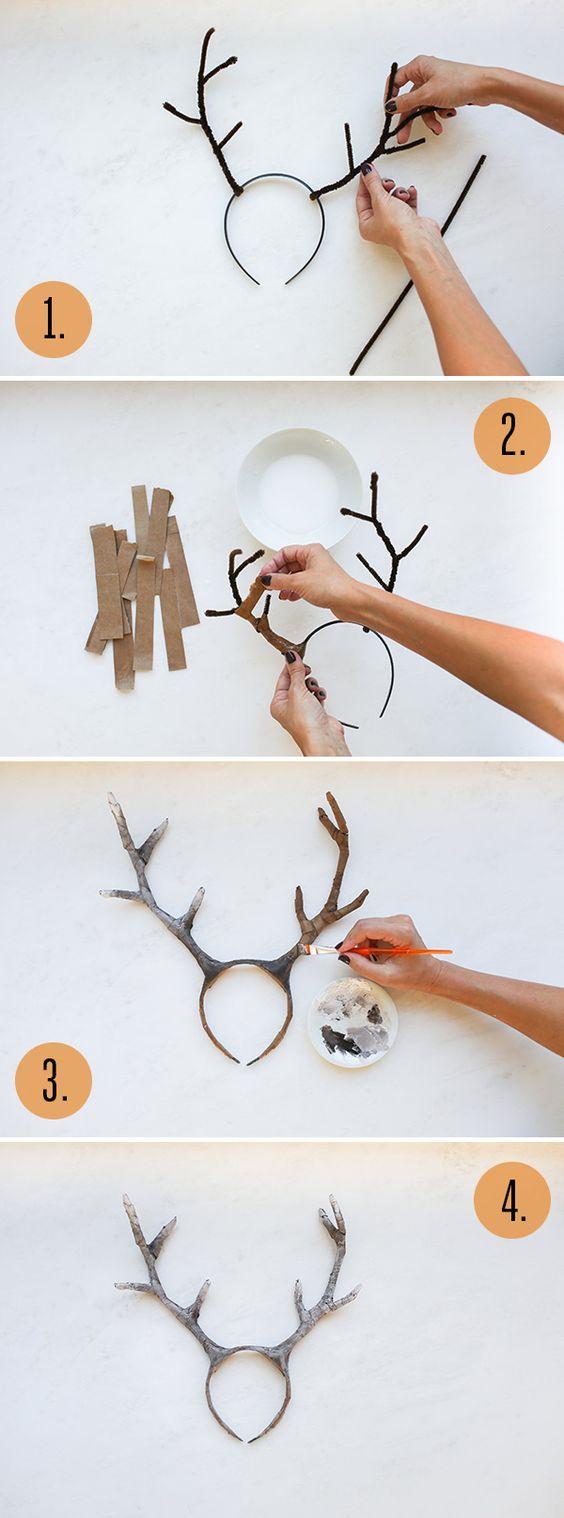 DIY Deer Costume.