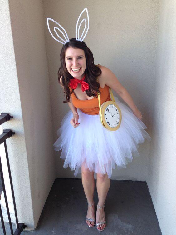 Alice In Wonderland Rabbit Costume.