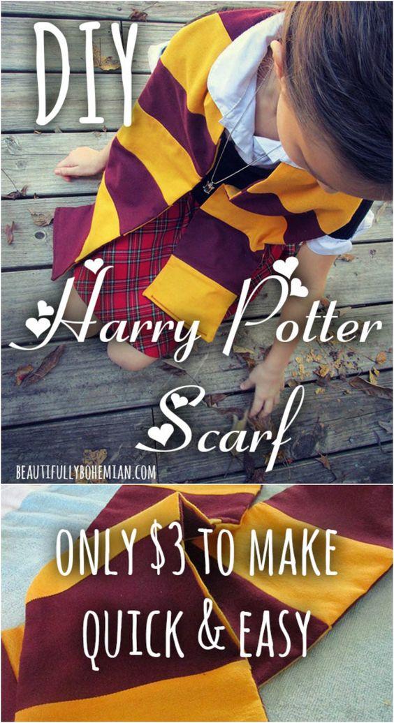 DIY Harry Potter Scarf.