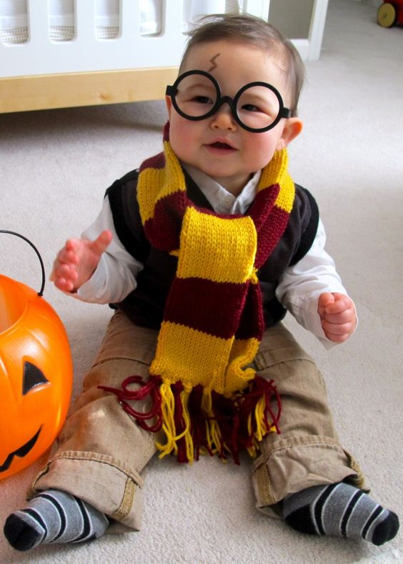 25 harry potter costumes and diy ideas 2017 diy baby harry potter costume solutioingenieria Images