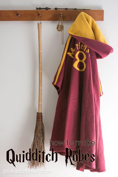 DIY Quidditch Robes.