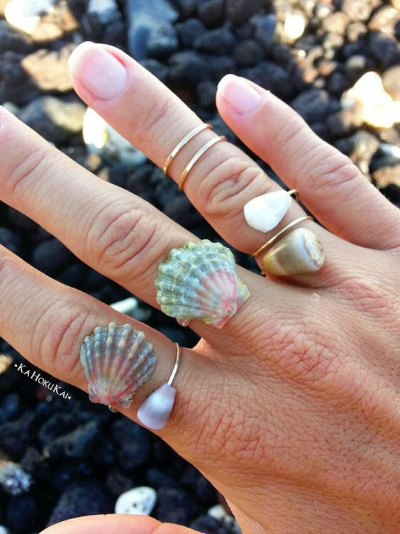 Sea Shell Ring.
