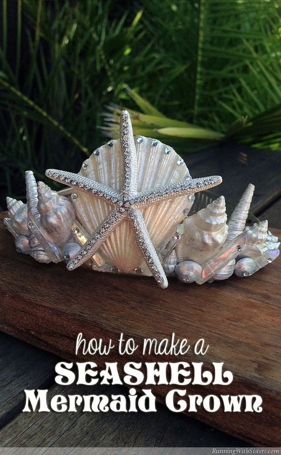Seashell Mermaid Crown.