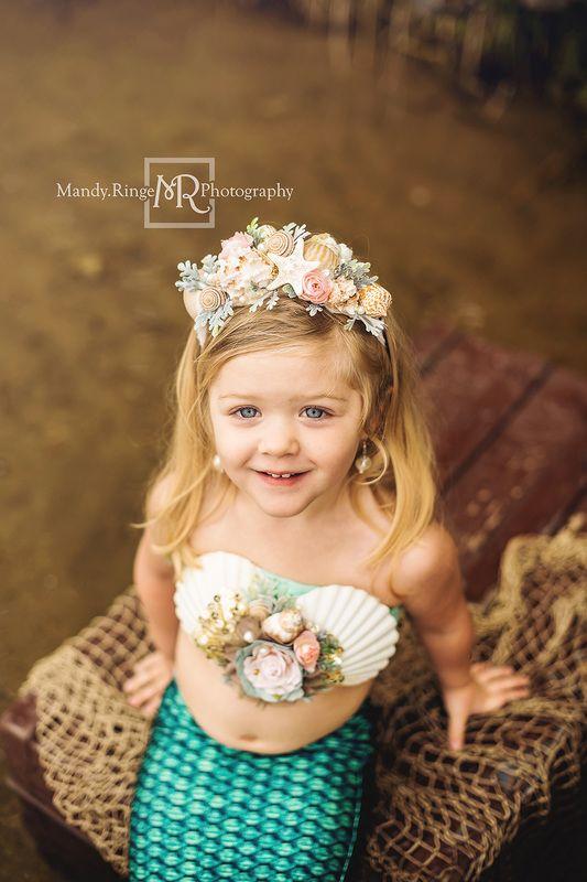Toddler Mermaid Costume.