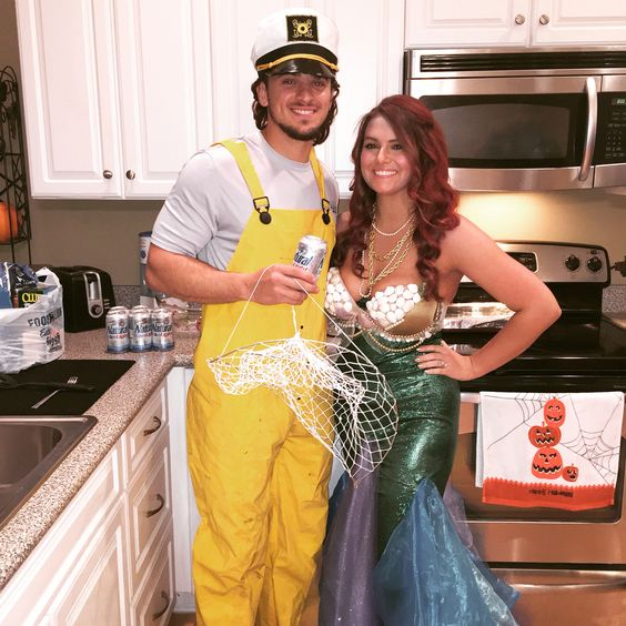 Mermaid and Sailor Costumes.