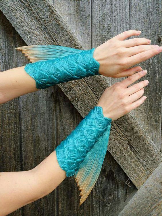 Mermaid Bracelet. : mermaid costume diy  - Germanpascual.Com