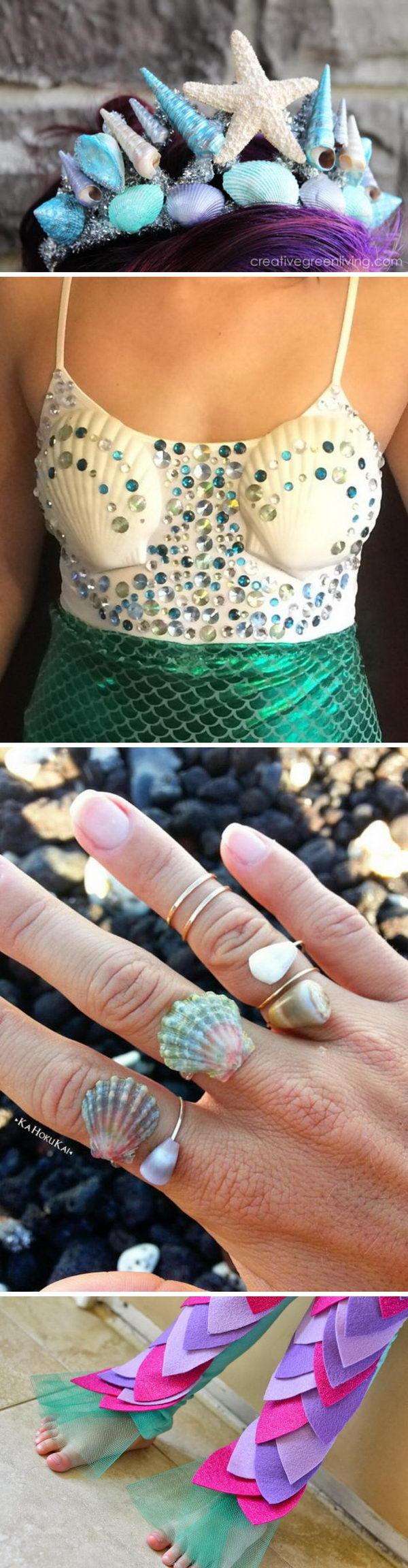 Mermaid Costumes and DIY Ideas.