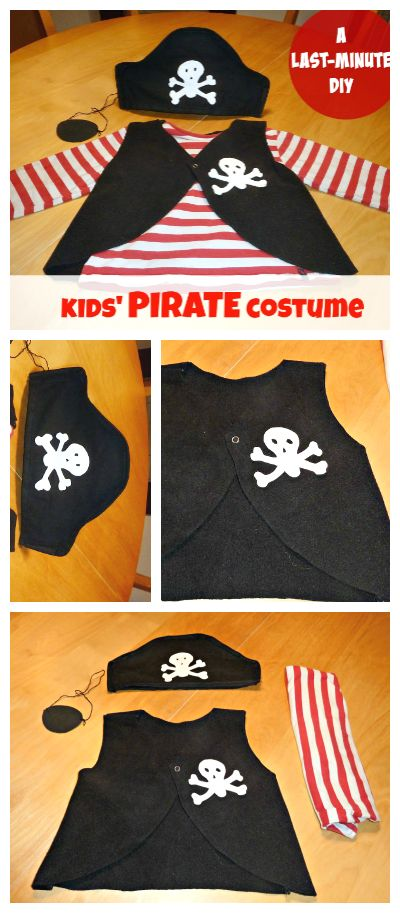 Pirate Costume for Kids.