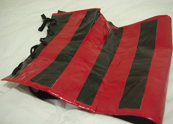 DIY Duct Tape Corset.